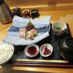 すき焼き・しゃぶしゃぶ・懐石料理 小豆 - 刺身盛り合わせ膳