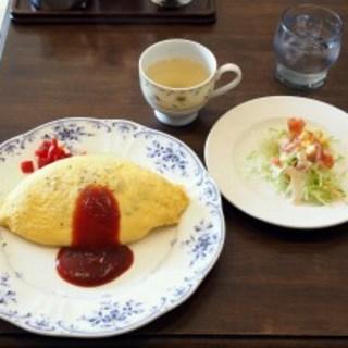 マンマ亭 - 料理写真:昔ながらのオムライスセット