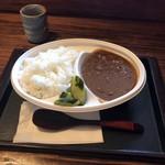 平尾台蕎麦処 えん - カレー全景。