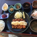 海鮮家千畳 - マグロカツ定食