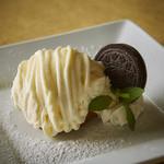 ホワイトチョコレートのモンブラン
