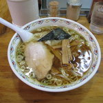 春木屋 - ワンタン麺1200円