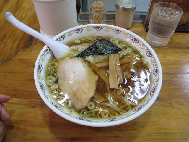 春木屋 荻窪本店 - ワンタン麺1200円