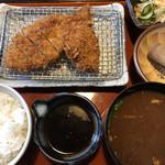 とんかつ たる蔵 - 味噌かつランチ