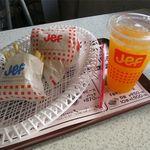 Jef - ぬーやるバーガーセット(702円)