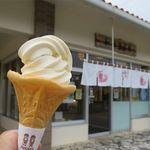 ちんすこう本舗 新垣菓子店 - ソフトクリーム(200円)