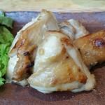 96894721 - 近江鶏の醤油麹焼き。