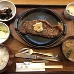 五鐵 - 料理写真:ステーキ定食