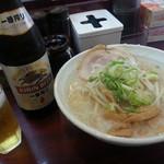 なりたけ TOKYO - 醬油らーめん&ビール2018.11.17