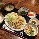 居酒屋 入舟 - 昼定食:小いわし天ぷら