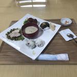 コロッケカフェふれあい - コロッケランチセット。 税込1100円。 美味し。