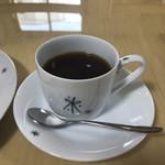 コロッケカフェふれあい - コーヒー。 美味し。