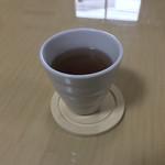 コロッケカフェふれあい - ほうじ茶。 美味し。