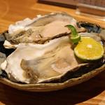 根津 たけもと - 昆布森産 殻付き生牡蠣