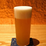 根津 たけもと - 生ビール