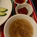 アジアン ビストロ ディ - もやしスープ