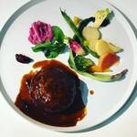 BISTRO INOCCHI - イノッチバーグ(猪肉のハンバーグ)