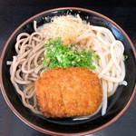 松下製麺所 - うどん&蕎麦のMIX(シロクロ)