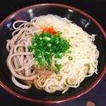 松下製麺所 - 蕎麦&中華麺のMIX(キイクロ)