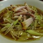 台湾創作料理 公 - 葱ラーメン