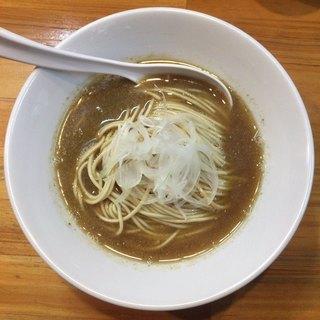 煮干中華ソバ イチカワ - 料理写真:裏かけ