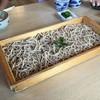 椚のそば屋 - 料理写真:板そば(W)350g/1,595円