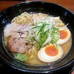 味噌麺処 豆醤 - 【味玉味噌らーめん(おとこ味)】¥800