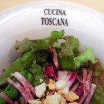 ガット・ネーロ - <'11/09/29撮影>パスタランチ 1260円 のサラダ