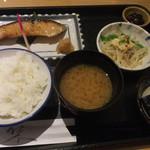 魚久 イートイン あじみせ - 銀ダラ定食  1566円(税込み)