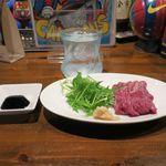 FOOTBALL CAFE CAMP NOU - 泡盛と馬刺