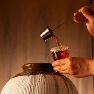 中華料理に合う「紹興酒」を豊富にラインナップ