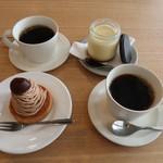 ピープルワイズ カフェ - デザートとコーヒー