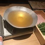 玄海の活魚と糸島直送の食 博多居酒屋 どげん海 - お出汁