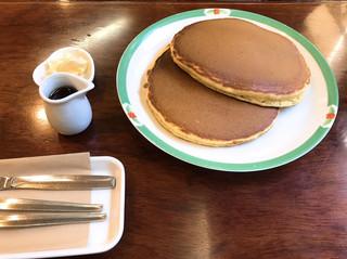 いかりや珈琲店 - ホットケーキセット