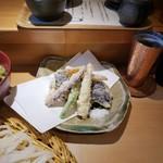 Kamakuramiyoshi - 天ざる鶏汁うどん
