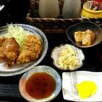 おにぎり家さん - 料理写真:ザンギ定食。