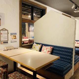 半個室新設!さらにゆっくりできる空間へと進化!