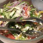 96958086 - 旬菜のサラダ