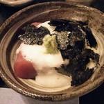 神田 尾張屋本店 - まぐろ山かけ
