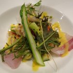 リストランテ・ヒロ OSAKA - 真鯛のカルパッチョ