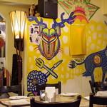 クイーンシーバ エチオピアレストラン - 内観