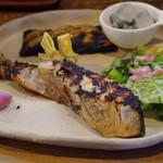 手打ちほうとうと発幸料理のお店 元祖へっころ谷 - 鮭の麹漬け焼き
