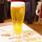 スリランカくまもと - ビール