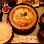 96962352 - 豆腐カツ煮定食