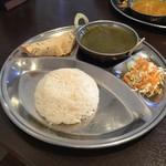 インドネパール料理 ヒマラヤキッチン - 選べるカレー Aセット 850円