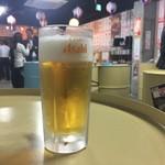立ち飲み居酒屋 ドラム缶 - 生ビール 250円