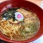 レストピアふじた - 料理写真:ラーメン (醤油) 450円