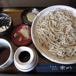 そば処 市川 - 料理写真:「とろろそば ¥850」