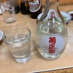 はやふね食堂 - 日本酒(一合)