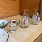 はやふね食堂 - 日本酒 お代わり